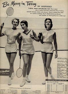Be Merry in Terry -Badminton Whites