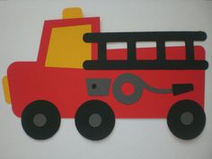 Items similar to Fire Truck Birthday Door Sign on Etsy Monster Truck Drawing, Monster Truck Coloring Pages, Craft Activities For Kids, Preschool Crafts, Preschool Ideas, Craft Ideas, Fire Truck Craft, Truck Crafts, Birthday Door