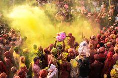 Holi in Vrindavan by Divya Rai on 500px