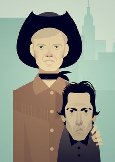 Stanley Chow.  Midnight Cowboy.  One of my favorite movies.  www.herocomplexgallery.com