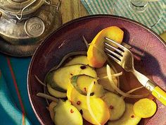 Spicy Squash Pickles