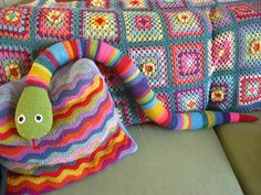 Attic24's Big Snake on her Flickr page!  Lots to see there too!