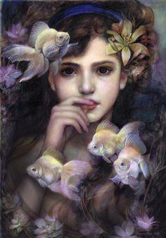 As sereias são seres mitológicos,parte mulher e arte peixe. Segundo os mitos elas são tão lindas e cantam com tanta doçura que atraíam os tr...