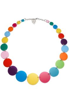 necklace of colored circles