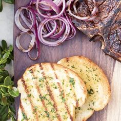 T-Bone Steaks with Texas Toast | A brilliant grilling recipe can start with the simplest idea, like a bunch of cherry tomatoes wrapped tidily in foil and left on the fire until warm, supersweet and dripping with juice. Indeed, grilling basics like this recipe can be phenomenal all on their own (good news for minimalists) or as part of a recipe riff by the grill-crazy cooks in the F&W Test Kitchen.