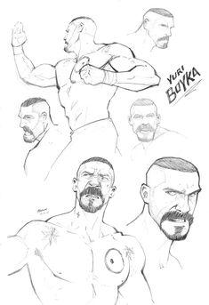 Yuri Boyka by *PatrickBrown on deviantART