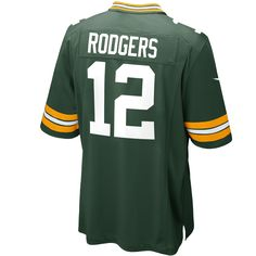 81f5d435a Nike Kids  Aaron Rodgers Green Bay Packers Game Jersey Kids can cheer along  Aaron Rodgers and the Green Bay Packers with this Nike Nfl kids  Game jersey .