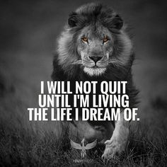 Smart Muscle ABS Stimulator I will not quit until I'm living the life I dream o. - Smart Muscle ABS Stimulator I will not quit until I'm living the life I dream of! Good Quotes, Badass Quotes, Strong Quotes, Wisdom Quotes, True Quotes, Positive Quotes, Best Quotes, Qoutes, Quotes On Men