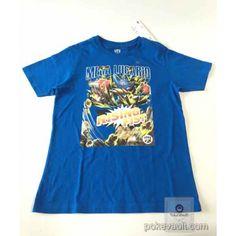 Pokemon 2016 Uniqlo Mega Lucario Childrens Tshirt (Size 150cm)