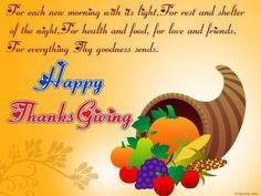 Happy Thanksgiving Wishes 2014 – Thanksgiving Greetings Messages Sayings Quotes