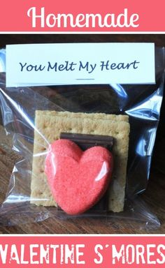 How To Make Valentine S'mores! Darling idea!