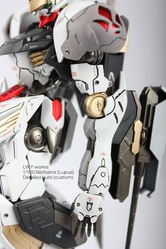 Custom Build: 1/100 Full Mechanics Gundam Barbatos Lupus [Detailed] - Gundam Kits Collection News and Reviews