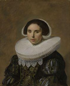 Portrait of a Woman, Frans Hals, c. 1635