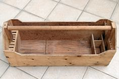 Handmade Carpenters Wood Tool Box
