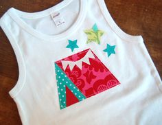 Ready To Ship in SIZE 6 ... Camping Under The Stars Birthday Tee, Glam Camping Birthday Tent Shirt, Girls Camping Birthday Tee