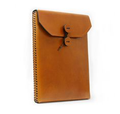 You might be thinking, Everybody has an iPad2 Case like this, but we took the classic manila envelope style iPad2 case and made it even better. Our