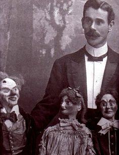 antique ventriloquist dummies