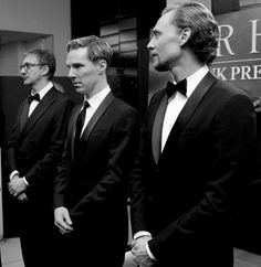 David Thewlis, Benedict Cumberbatch, Tom Hiddleston