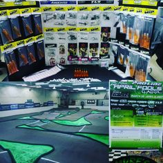 MIP getting all set up at this year's @prolineracing April Fool's Classic held at IRCR Raceway in Salt Lake City Utah. MIPs Matt Olson will be on hand all weekend long to answer any MIP related questions. Also equipped on Matt's AE B64 is some quite cool drivetrain parts that we hope to have available for the 13.5 class by @oc_rcraceway Stock Nats. #miponline #cheaterdrives