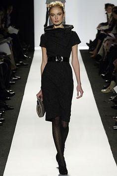 Oscar de la Renta Fall 2006 Ready-to-Wear Fashion Show - Inguna Butane