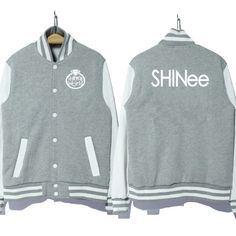 kpop Korea music group shinee logo coat jacket baseball uniform hoodie 3 colors good quality-in Basic Jackets from Women's Clothing & Accessories on Aliexpress.com | Alibaba Group