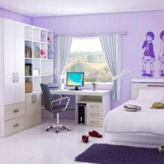 Stunning 50 Amazing Ideas for Small Rooms Teenage Girl Bedroom https://toparchitecture.net/2017/12/08/50-amazing-ideas-small-rooms-teenage-girl-bedroom/