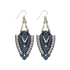 Lulu Frost Spike Earring ($115) ❤ liked on Polyvore