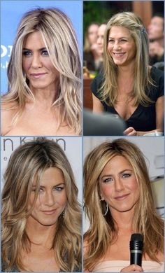 cortes de cabelo longo - jennifer aniston - long hairstyle - March 16 2019 at Cabelo Jenifer Aniston, Jennifer Aniston Haar, Jennifer Aniston Hairstyles, Jennifer Aniston Makeup, Face Shape Hairstyles, Easy Hairstyles For Long Hair, Bob Hairstyles, Formal Hairstyles, Elegant Hairstyles