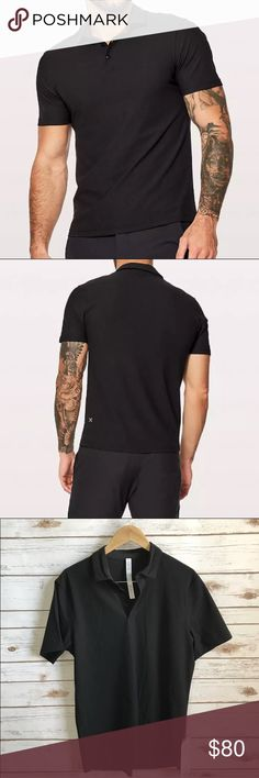NWT BLACK LULULEMON MEN'S TWILL CHILL POLO -MEDIUM Brand: Lululemon Athletica twill chill polo            Condition: New with tag || Size medium || Black  📌NO  TRADES  🛑NO LOWBALL OFFERS  ⛔️NO RUDE COMMENTS  🚷NO MODELING  ☀️Please don't discuss prices in the comment box. Make a reasonable offer and I'll either counter, accept or decline.   I will try to respond to all inquiries in a timely manner. Please check out the rest of my closet, I have various brands. Some new with tag, others in…