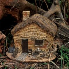Fairy House with Lid.