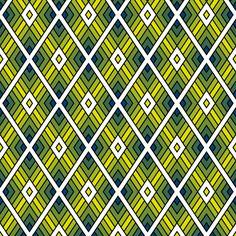 diamond fret : firefly fabric by sef on Spoonflower - custom fabric