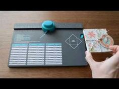 tutorial for making boxes w/ envelope punch board - good description on how to work out measurements required....