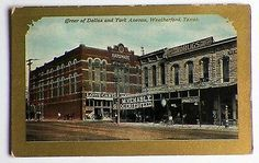 Weatherford Texas, Texas Legends, County Seat, Texas History, Texas Travel, Walking Tour, Old Pictures, Dallas, Wildlife