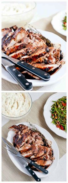 Slow Cooker Herbed Balsamic Pork Roast from Cafe Johnsonia sounds ...