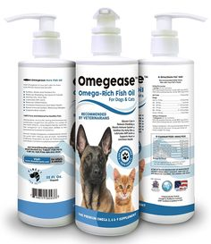 100% Pure Omega 3, 6 and 9 Fish Oil for Dogs and Cats - Best For Skin, Coat, Joint, Heart and Brain Health. Boosts Immunity - From Wild Caught Fish - Better Source of DHA and EPA Than Wild Alaskan Salmon Oil - Results in 30 Days or Your Money Back -- Be sure to check out this awesome product. (This is an Amazon affiliate link)