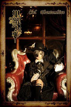 Black Butler- Ciel Phantomhive Cosplay