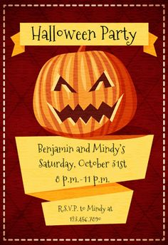 free halloween invitations templates