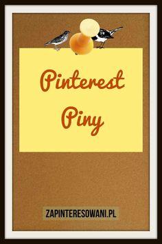 Piny na Pintereście! Ich rodzaje i przeznaczenie. Sprawdź! Pinterest Co, Digital Marketing, Blog, Blogging