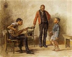 The Dancing Lesson - Thomas Eakins (1878)