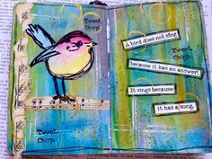 Crafty Thoughts: Scribbly Birds by Gabrielle Price