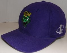 Jacksonville Lizard Kings ECHL Ice Hockey Vintage Logo 7 Snapback Hat RARE #Logo7 #JacksonvilleLizardKings