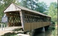 A one-of-kind passive park, Poole's Mill is 10 acres of property that showcases a unique covered bridge. The Bridge, built in 1901, spans the shoals of Settendown Creek. After periods of disrepair, th