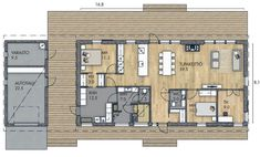 Humble Abode, Home Interior Design, Future House, House Plans, New Homes, Floor Plans, How To Plan, Building, Architecture Models