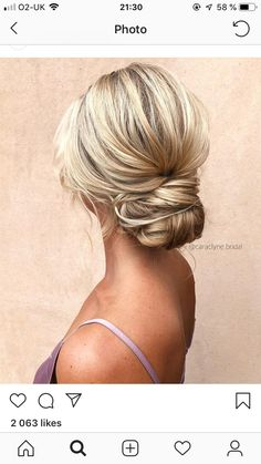 newest short hair updo hairstyle ideas 6 ~ my.me - newest short hair updo hairstyle ideas 6 ~ my. Beach Wedding Hair, Wedding Hair And Makeup, Wedding Beauty, Wedding Hair Accessories, Short Hair Updo, Short Hair Styles, Low Updo, Bridesmaid Hair Updo, Bridal Hair Updo