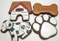 cookies for a doggy party