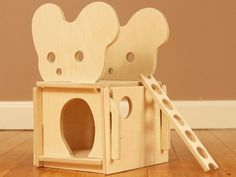 Wood Mouse House Dollhouse // A Classic Play House for Creative Minds // Modular Natural Organic Woo Toy Playhouse, Dollhouse Design, Lord, Wooden Animals, Jpg, Wood Toys, Green Building, Play Houses, Biodegradable Products