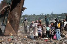 Maputo, Mozambique....we went to the dumps to minister to people.  Just loved on them....