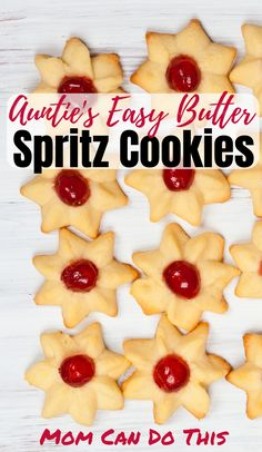 The Best Easy Spritz Cookie Recipe you will ever try