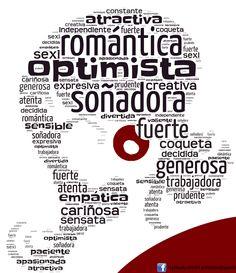 Nube de palabras con vocabulario para la mujer :-) Más en www.fb.com/PracticamosEspanol o www.profedeele.es