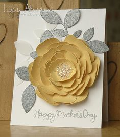 Mothers Day Rose - Lucys Cards